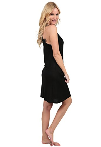Tank Beach Summer Casual Ingear Racerback Dress Black Dress Cover Up Dye Tie 0xq8Tt