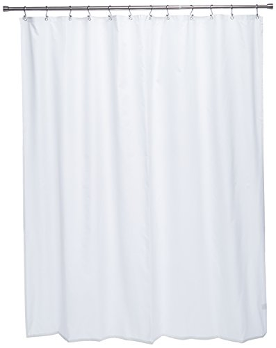Ex-Cell Pierce Fabric Microfiber Shower Curtain Liner, 70 by 72-Inch, White (Cell Shower Curtain)