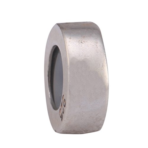 .925 Sterling Silver Rubber Stopper Fits One Pandora, Biagi, Troll, Chamilla and Many Other European Charm #EC422
