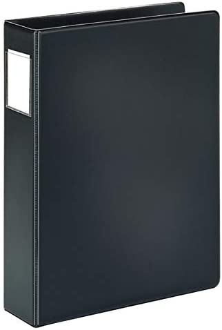 """Office Depot Brand Durable Legal-Size Reference Binder, 2"""" Rings, 100% Recycled, Black"""