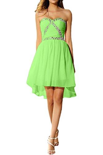 ivyd ressing Mujer liebeling corta piedras Corazón Forma tuell Prom vestido vestido de cóctel para vestido de noche Verde