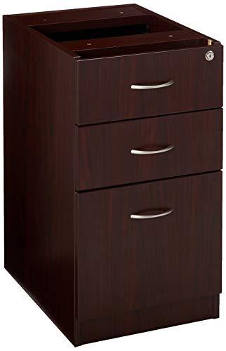 Lorell LLR69603 69000 Series Free Standing Fixed Pedestals, Mahogany (Office Cabinet Mahogany)