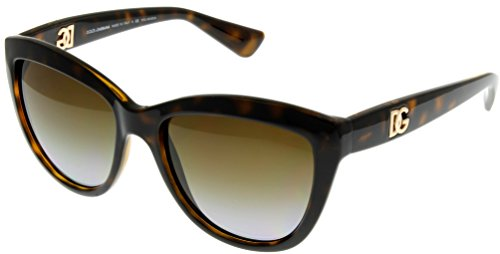 Dolce & Gabbana Sunglasses Women Havana Polarized DG6087 502/T5 by Dolce & Gabbana