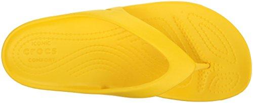 Crocs Chanclas Mujer Amarillo Women Kadee Ii Para Flip lemon rxwq4rAIgc