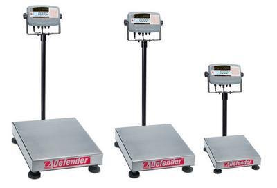 - 80501358 - Defender 7000 Xtreme Rectangular Bench Scale, Ohaus - Weighing Capacity : 15000 g (33 lbs.) - Each