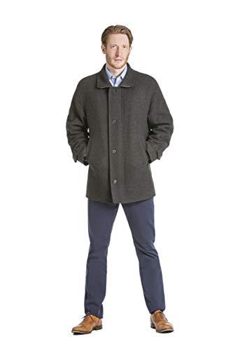 Robert W. Stolz Loden Wool Cruiser Coat Liezen (48) Charcoal ()