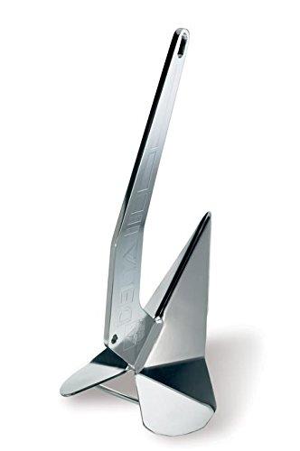 Lewmar Stainless Steel Delta Anchor, 6 kg/14 lb.