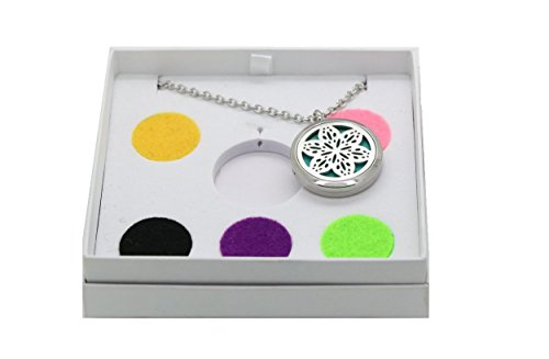 Essential Diffuser Aromatherapy Necklace Jewelry