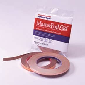 "5/16"" Copper Foil - 1.0 Mil - 5/16 X 36 Yards"