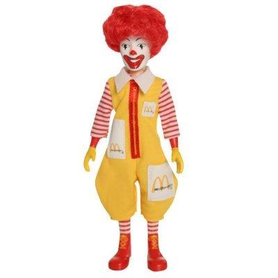 amazon mcdonald s mcdonaldland figure ronald mcdonald ソフビ