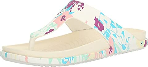 Native Shoes Unisex Turner LX Shell White/Bone White/Bouquet Sandal (Size 8 Native Shoes)