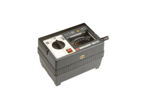 Megger 212359 Analog Insulation Tester, Hand-Crank and Line Powered, 2,000 Megaohms Resistance, 100, 250, 500, 1000 V Test (Analog Insulation Tester)