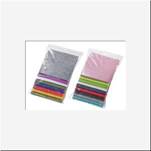 Hobbyfun Filz-Reste, farblich sortiert, 200gr., 1Beutel