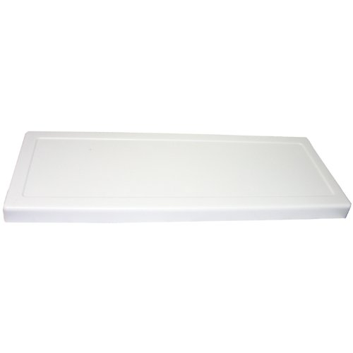 LASCO 14-1010 Universal Fit Most Toilet Tank Lid for 21 1/8-Inch x 7 3/4-Inch or Less Toilets, White Plastic