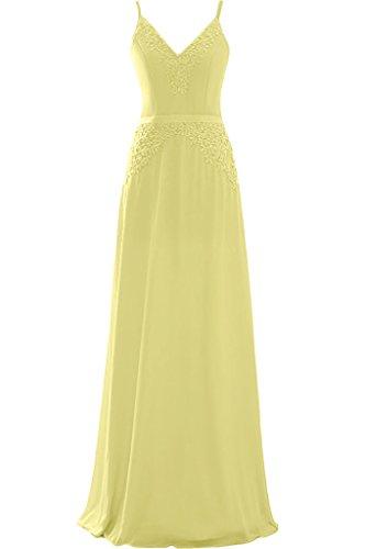 A Damen Promkleid Nazisse Lang Chiffon Ausschnitt amp;Spitze Linie V Ivydressing Festkleid Spaghetti Abendkleid qSf1qF