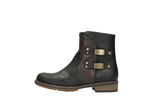 Wolky Oiled nbsp;émeraude Bottes Leather Brown Comfort 04439 50300 wqUTp