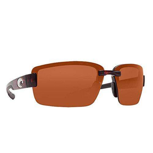 Costa Del Mar Galveston Polarized Sunglasses, Tortoise, Copper 580P from Costa Del Mar