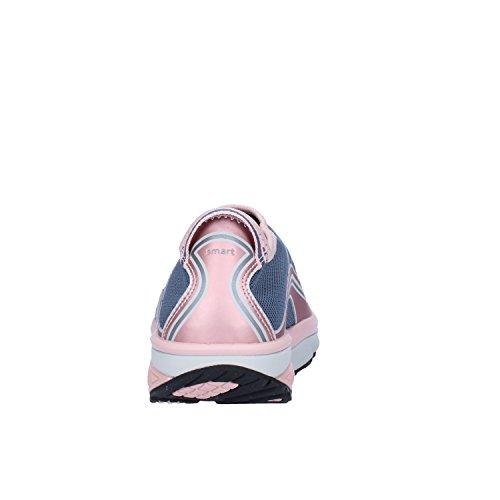 MBT Sneakers Damen 37 EU Blau Grau Pink Textil