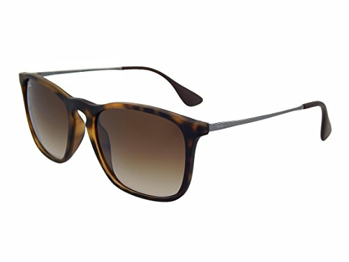 New Ray Ban Chris RB4187 856/13 Tortiose/Brown Gradient 54mm - Chris Rb4187