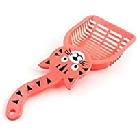 Cat Litter Shovel Pet Cleanning Tool Plastic Scoop Cat Sand Cleaning Products Toilet For Dog Food Spoons PINK