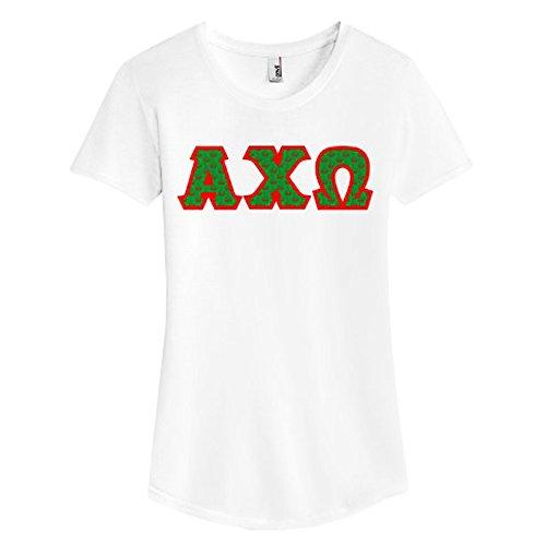 alpha chi omega letter shirts - 2