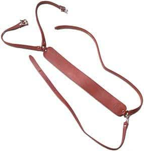 Creel leather harness fly fishing fishing for Amazon fishing gear