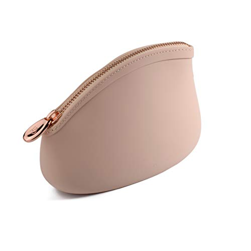 Pudinbag Silicone Makeup Toiletry Pouches for Women   Vegan   Cosmetic ()