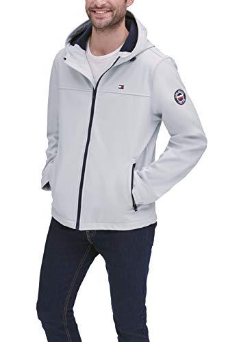 Tommy Hilfiger Men's Lightweight Performance Softshell Hoody Jacket