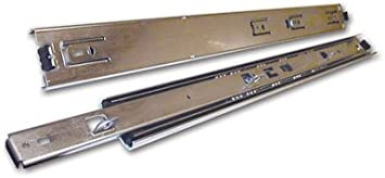Set W// Hold Out Kv 8400 Series Full Extension Precision Ball Bearing Slides 18 100# Class
