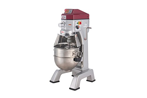 Axis Equipment AX-M40 Stainless Steel Commercial Planetary Mixer, 40 quart Capacity, 23-89/128
