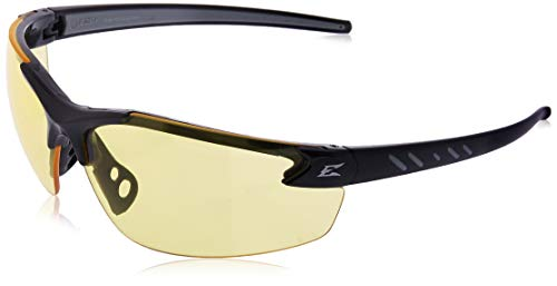 Edge Eyewear DZ112-G2 Safety Glasses, Black with Yellow Lens