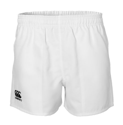 White Rugby Shorts - Canterbury Professional Rugby Shorts, White, 26-Inch