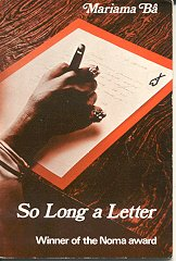 How can we seen women's rights as a human right in Mariama Ba's 'So Long a Letter.'