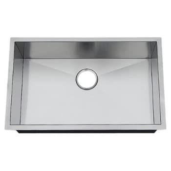 10 inch deep stainless steel kitchen sink frigidaire fpur2919 d10 27 inch by 17 inch by 10 inch 9679