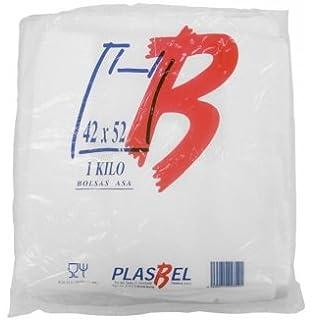 Grande 11 x 17 x 21 pulgadas Bolsas de pl/ástico respetuosas con el medio ambiente Bolsas de chaleco blanco 100/% degradables Sabco 1