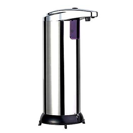 PeanutaocAC Dispensador de Jabón Automático, Dispensador de líquidos del Sensor Infrarrojo sin Contacto Dispensador para