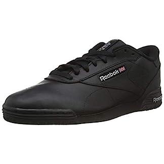 Reebok Herren Ex-O-Fit Clean Logo Sneaker, Schwarz (int-Black/Silver/Silver), 44 EU 1