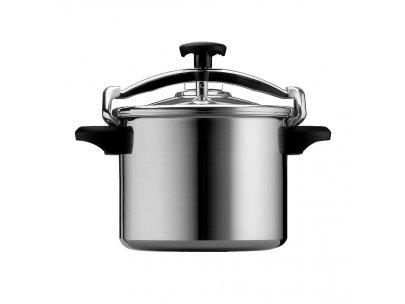 Silampos Aluminum Pressure Cooker 4.5/6/8/10/12 Liters Capacity (8 Lts)