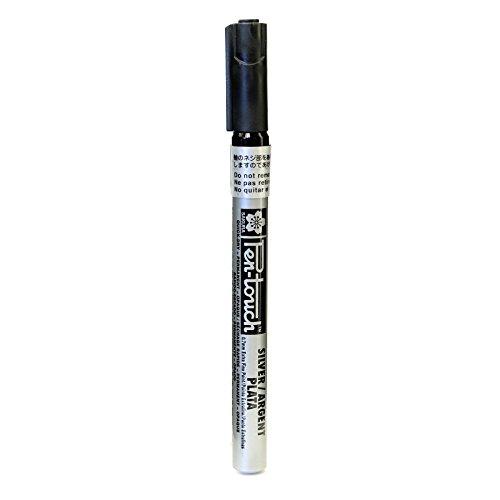 Sakura Pen Touch Marker extra silver