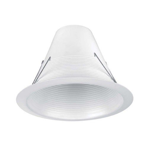 Commercial Electric 6 in. White Airtight Recessed Baffle Trim (6-Pack) 630328 by Commercial Electric