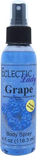 Grape Body Spray (Double Strength), 4 ounces