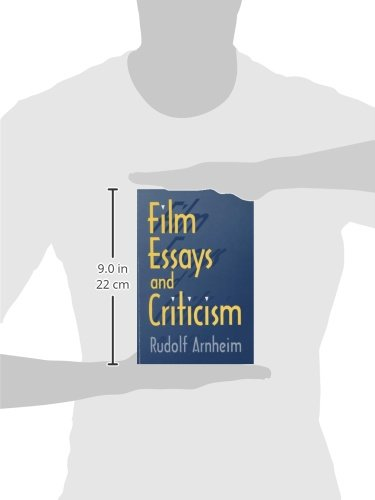 film essays and criticism wisconsin studies in film rudolf  film essays and criticism wisconsin studies in film rudolf arnheim 9780299152642 amazon com books