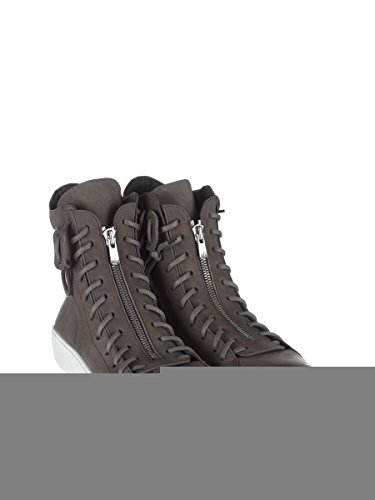 De Laatste Samenzwering Herren Tlc1662452 Grijs Leder Sneakers