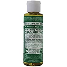 Dr Bronners Magic Soap All One Csal04 4 Oz Almond 18 In 1 Dr. Bronner'S Liquid Soap