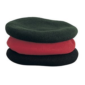 Rothco Monty Wool Beret, Green, Large