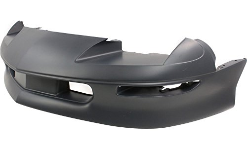 New Evan-Fischer EVA17872019553 Front BUMPER COVER Primed Direct Fit OE REPLACEMENT for 1993-1997 Chevrolet Camaro *Replaces Partslink GM1000157 (Bumper For Camaro compare prices)