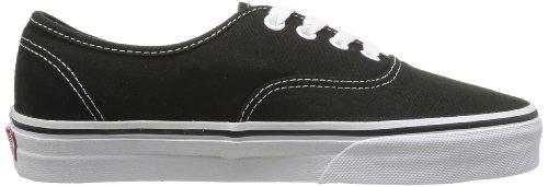 Mode Noir black Adulte Mixte Authentic Baskets Vans white U TqF64BnR