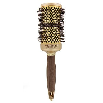 Olivia garden nanothermic contour round thermal hair brush nt c42 1 5 8 hair Olivia garden nanothermic brush