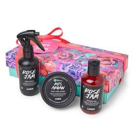 Lush Rose Jam Body Spray Wrapped Gift