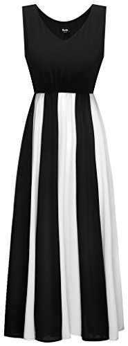 Wantdo-Womens-Chiffon-Beach-Dress-Pleated-Maxi-Dress